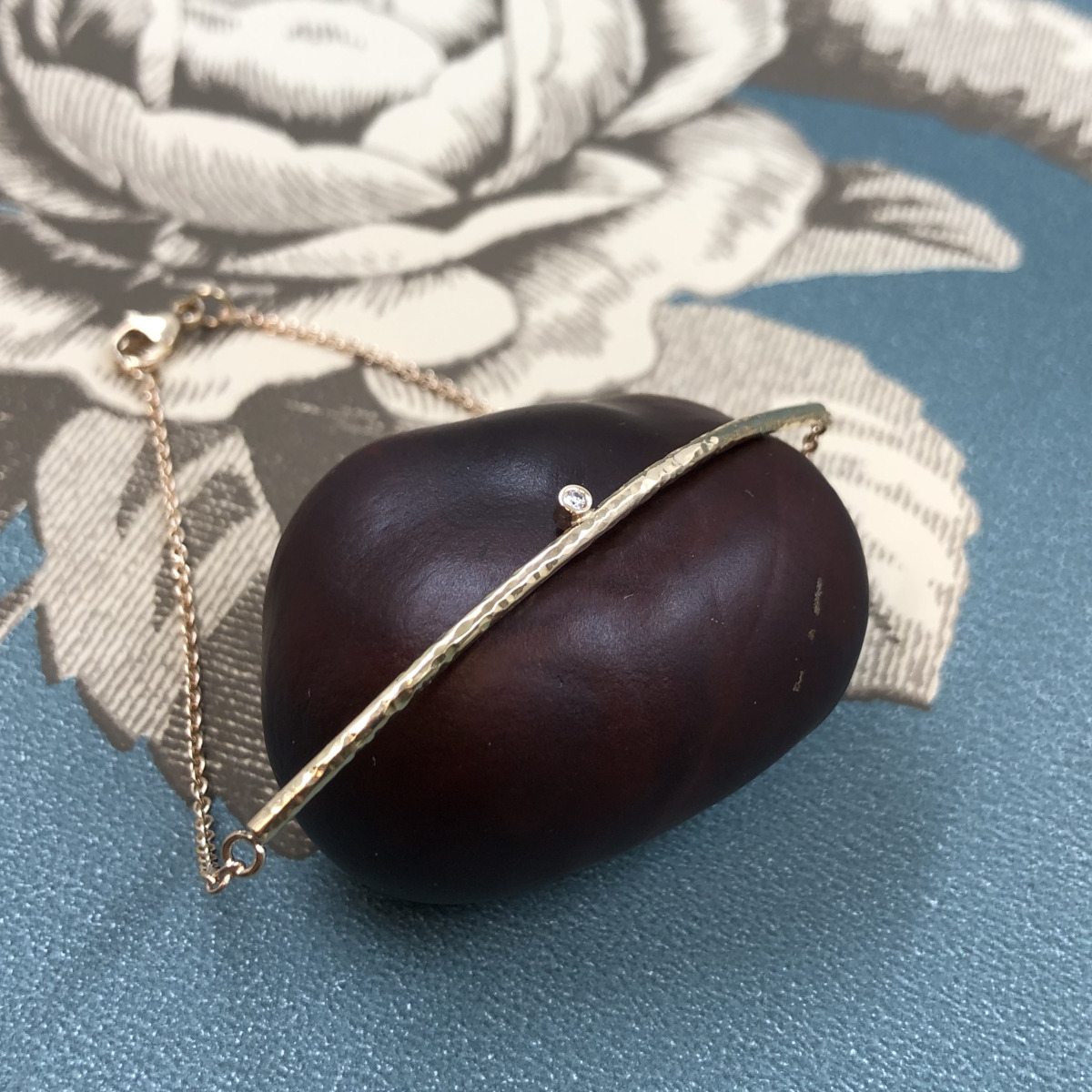 Guldarmband, armband, diamantarmband