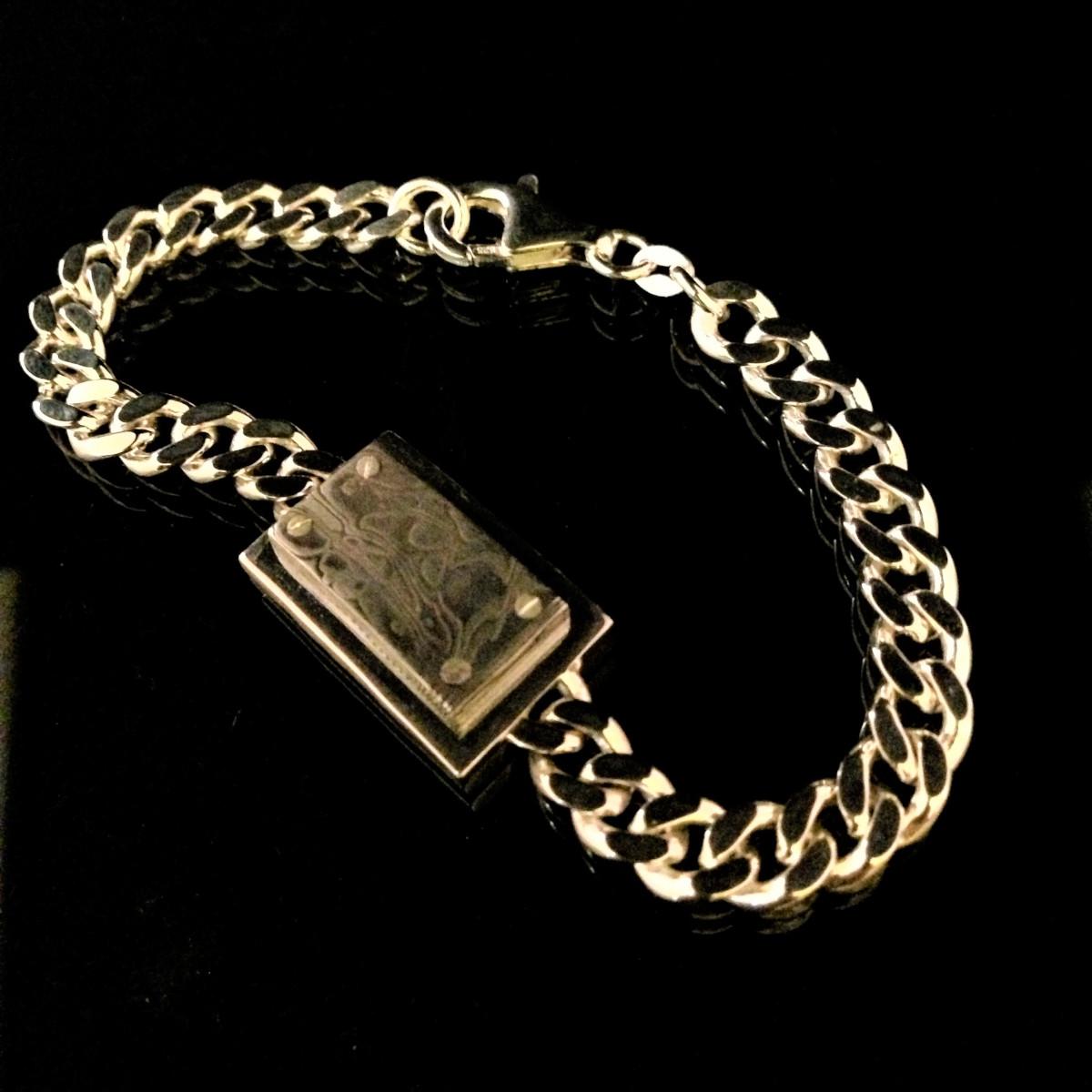Armband, herrsmycke, silverarmband
