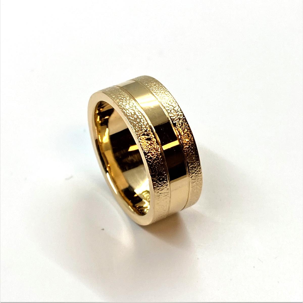 Herring, bred ring, guldring