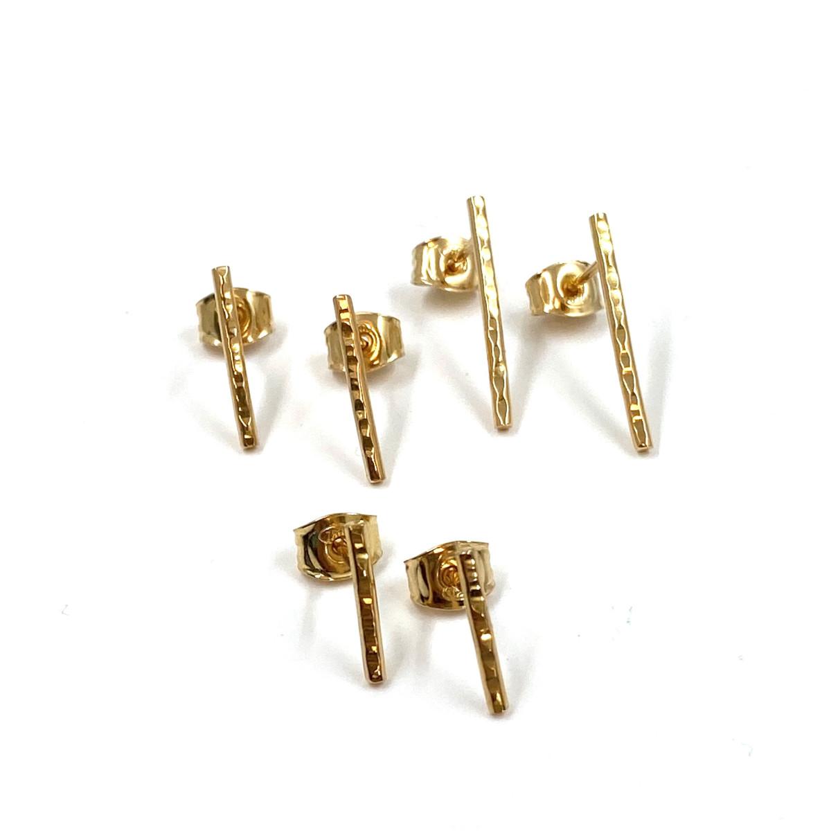 Örhängen, guldörhängen, stavar